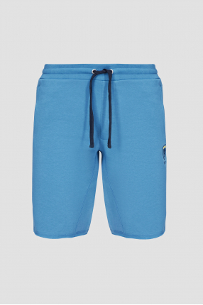 Мужские голубые шорты