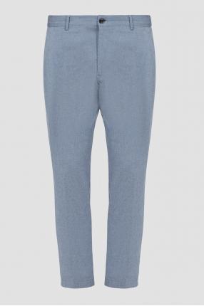 Мужские светло-синие брюки