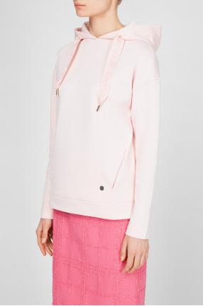 Жіноче рожеве худі 1