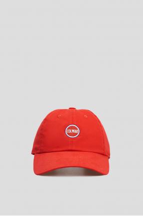 Мужская красная кепка