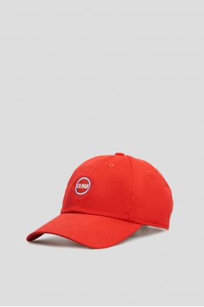 Мужская красная кепка 1