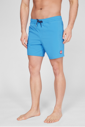 Мужские синие плавательные шорты 1