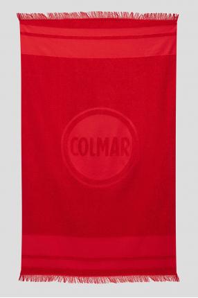 Чоловічий червоний рушник