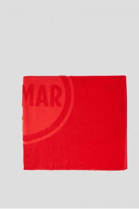 Чоловічий червоний рушник 1