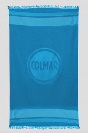 Чоловічий синій рушник