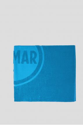 Чоловічий синій рушник 1