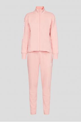 Женский розовый спортивный костюм (кофта, брюки)