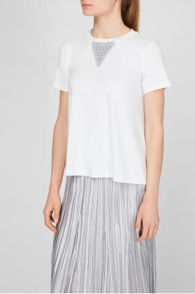 Жіноча біла футболка 1
