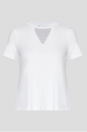 Жіноча біла футболка