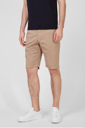 Мужские бежевые шорты 1