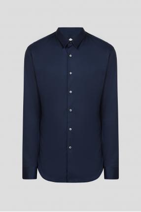 Чоловіча темно-синя сорочка