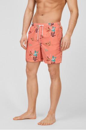 Мужские коралловые плавательные шорты 1