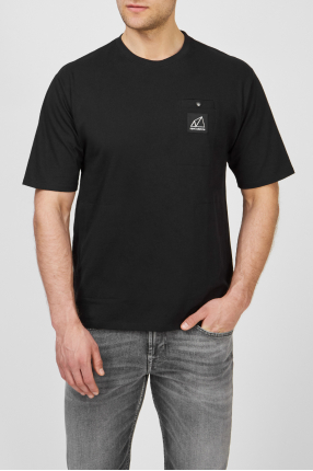 Мужская черная футболка NB All Terrain Pocket 1