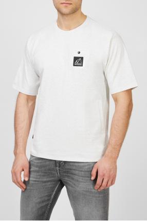 Мужская белая футболка NB All Terrain Pocket 1
