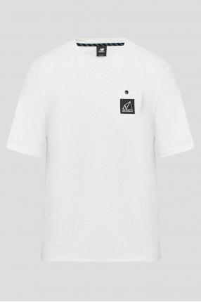 Мужская белая футболка NB All Terrain Pocket