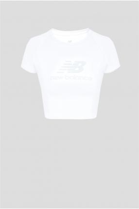 Женская белая футболка NB Athletics Podium