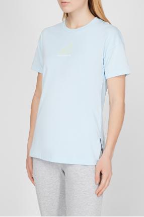Женская голубая футболка NB All Terrain 1