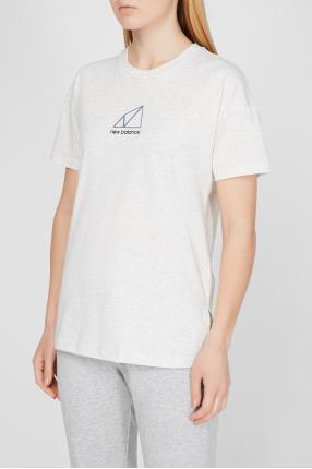 Женская белая футболка NB All Terrain 1