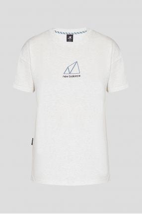 Женская белая футболка NB All Terrain