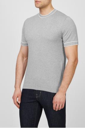 Мужская серая футболка 1