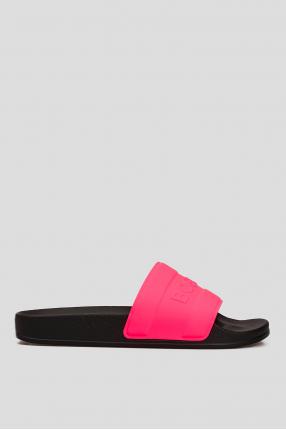 Женские розовые слайдеры