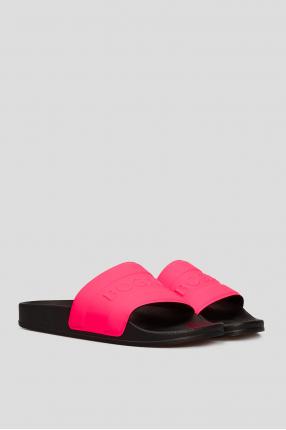 Женские розовые слайдеры 1