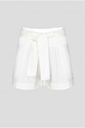 Жіночі білі шорти