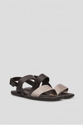 Мужские кожаные сандалии 1