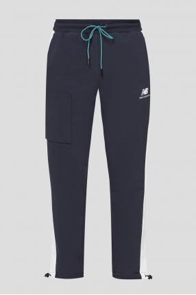 Мужские темно-синие спортивные брюки ATHLETICS