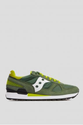 Мужские зеленые замшевые кроссовки Shadow Original