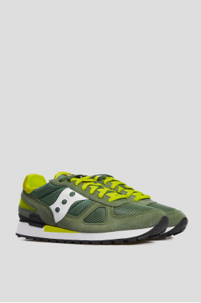 Мужские зеленые замшевые кроссовки Shadow Original 1