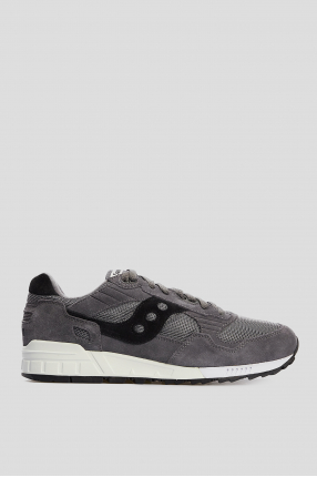 Мужские темно-серые замшевые кроссовки Shadow 5000