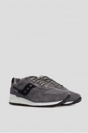 Мужские темно-серые замшевые кроссовки Shadow 5000 1