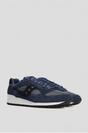 Мужские синие замшевые кроссовки Shadow 5001 1