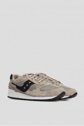 Мужские бежевые замшевые кроссовки Shadow 5000 1