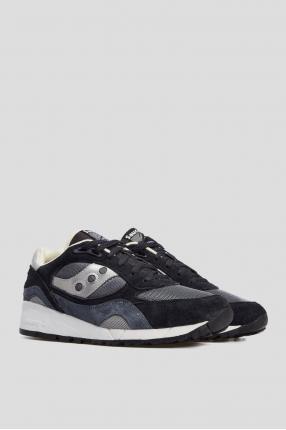 Мужские синие замшевые кроссовки Shadow 6000 1