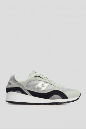 Мужские серые замшевые кроссовки Shadow 6000