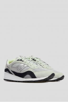 Мужские серые замшевые кроссовки Shadow 6000 1