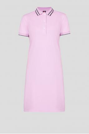 Женское сиреневое платье