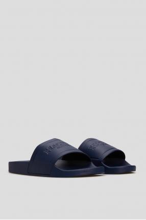 Чоловічі сині слайдери 1
