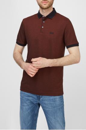 Чоловіче коричневе поло 1