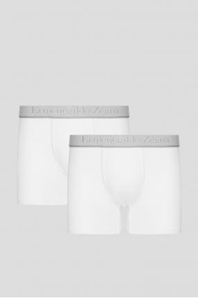 Чоловічі білі боксери (2 шт)