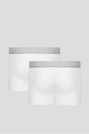 Чоловічі білі боксери (2 шт) 1