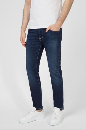 Чоловічі темно-сині джинси 1