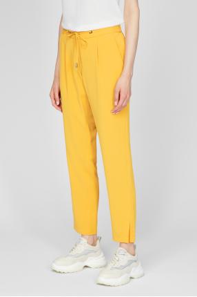 Женские желтые брюки 1