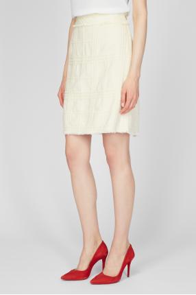 Жіноча біла спідниця 1