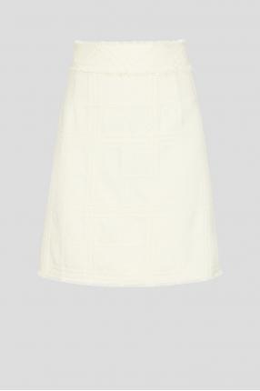 Жіноча біла спідниця