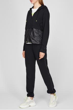 Жіночий чорний костюм (кофта, спортивні штани) 1