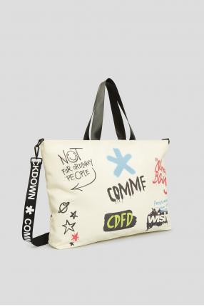 Женская белая сумка  1