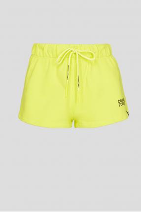Жіночі жовті шорти